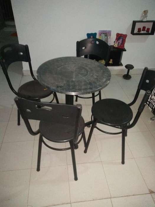 3 Mesas con 12 Cillas Baratas 350 Negoci