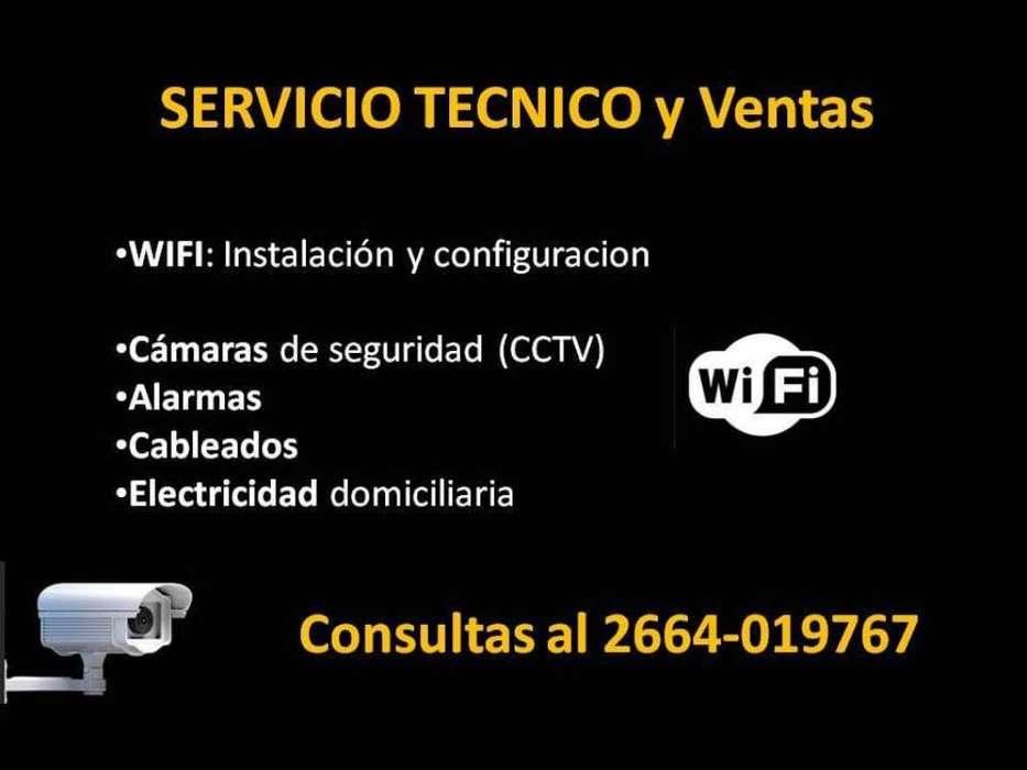 Wifi Redes Camaras Alarmas