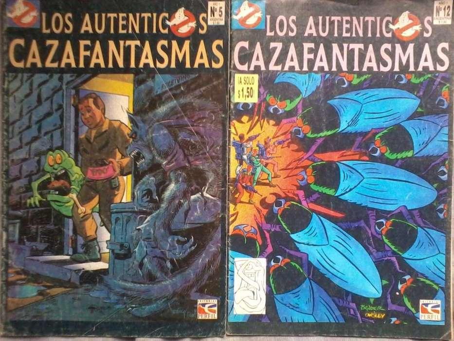 historietas de los cazafantasmas comics