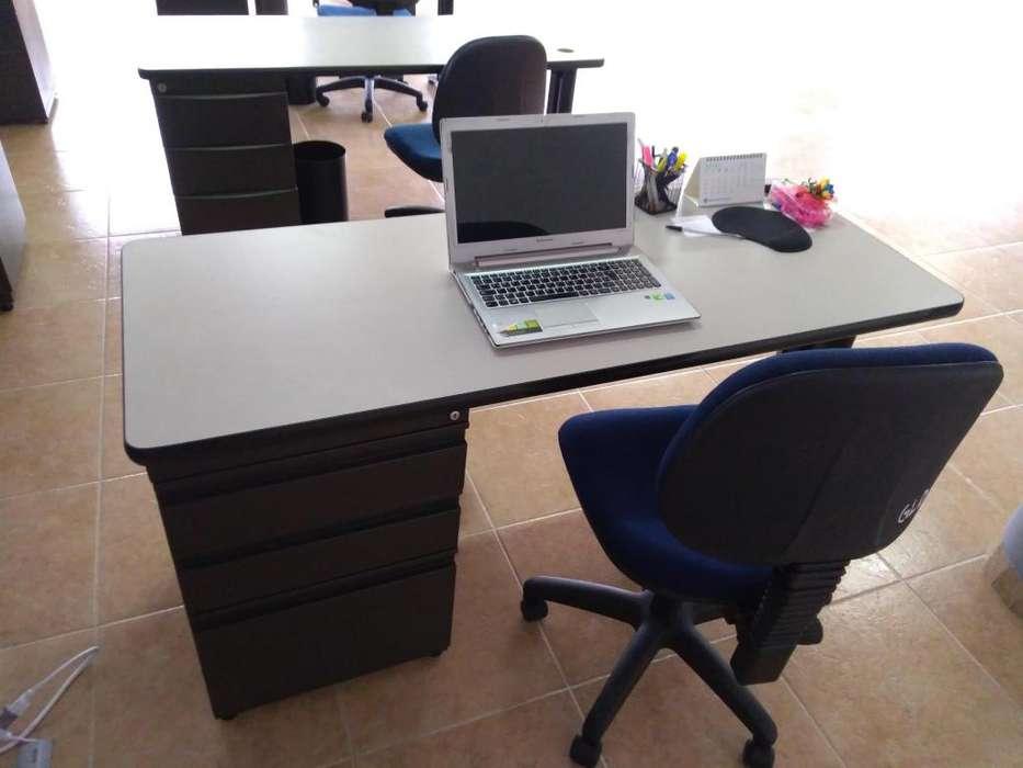 Venta de muebles oficina en promocion