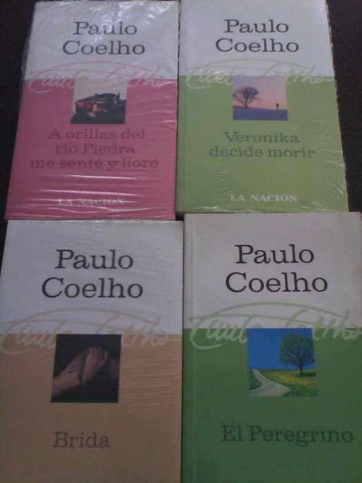 7 libros nuevos Paulo Coelho colección La Nación 120 cada uno