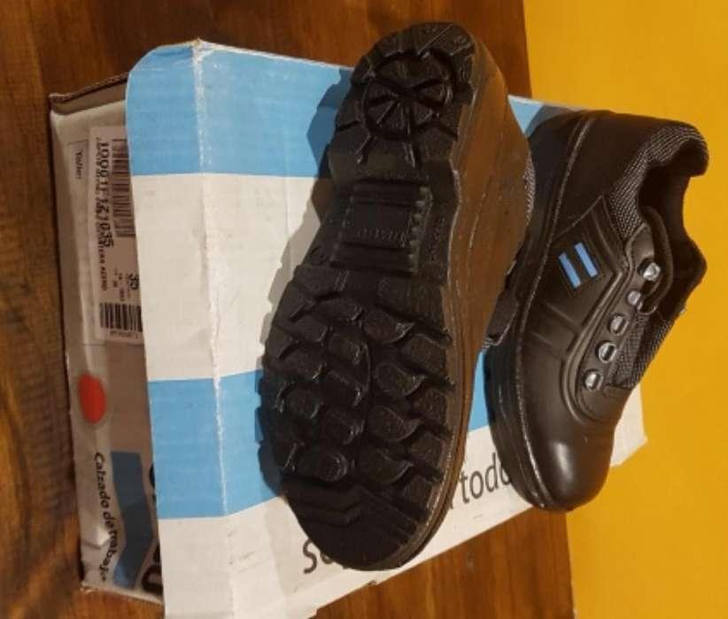 Zapato Seguridad Ombu N 35 Nuevos