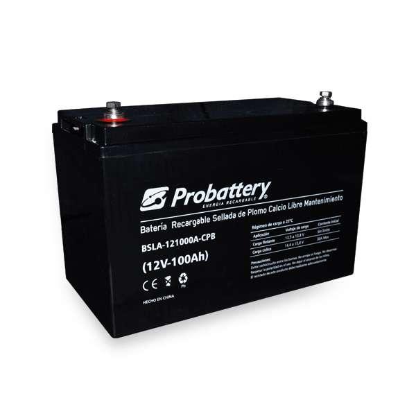 Batería Recargable De Electrolito