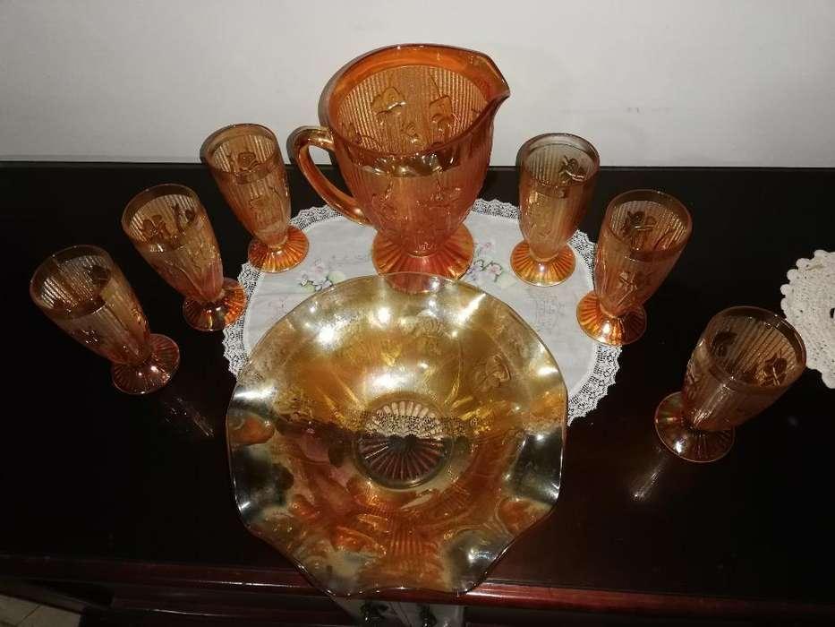 Juego de Cristalería Antigua