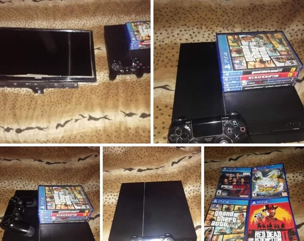 Venta de Playstation 4 Y Tv Samsung