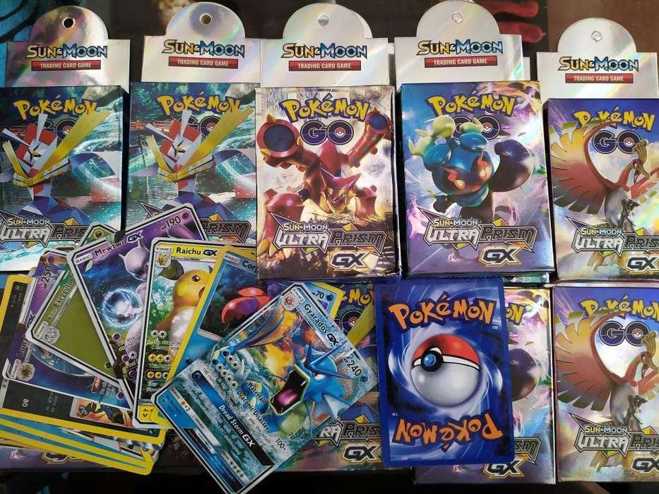 Cartas Pokemon Sol Y Luna