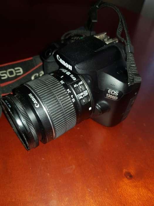 Camara Profesional Canon1300d (t6)