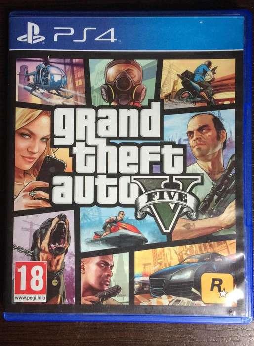 VENDO SOLO LA CARATULA Y EL SCREEN DE GRAND THEFT AUTO V GTA PLAY STATION 4 PS4