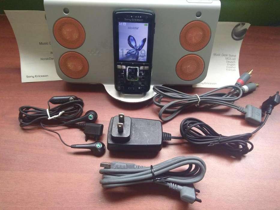 Sony Ericsson celular cyber shot K850 Libre Con Todos Los Accesorios