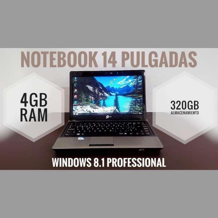 Hermoso Portátil Dualcore Intel Impecabl
