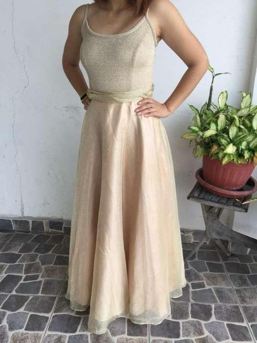Vestido para <strong>fiesta</strong> Dorado