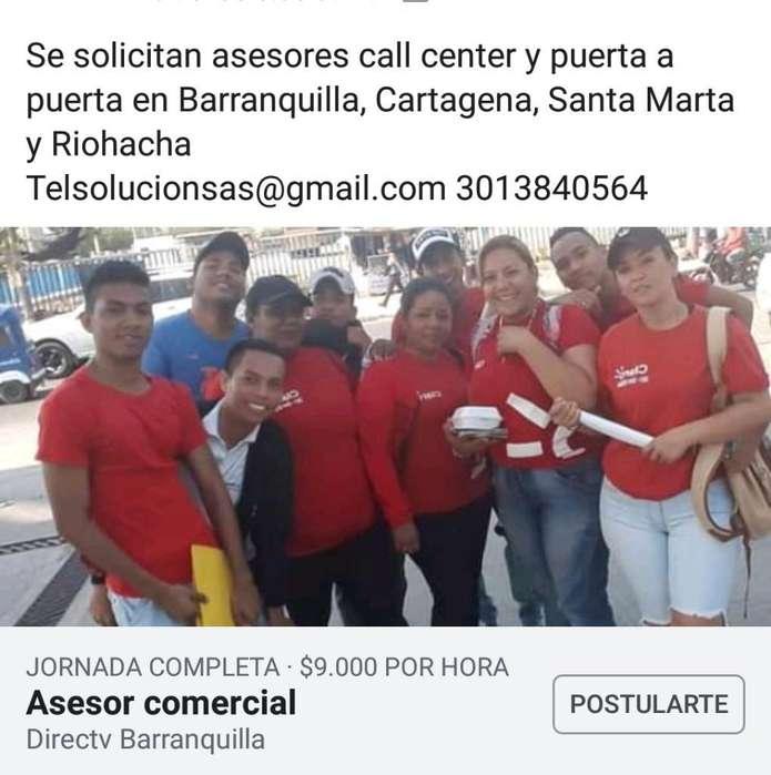 Asesor Call Y Vendedor