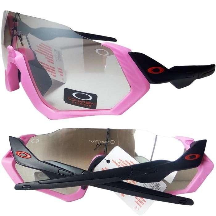 d90068a192 Gafas Oakley Flight Jacker Mtb ciclismo Ciclomontañismo lente transparente