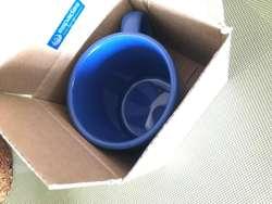 Taza / Jarro recto de cerámica ANCERS apto microondas