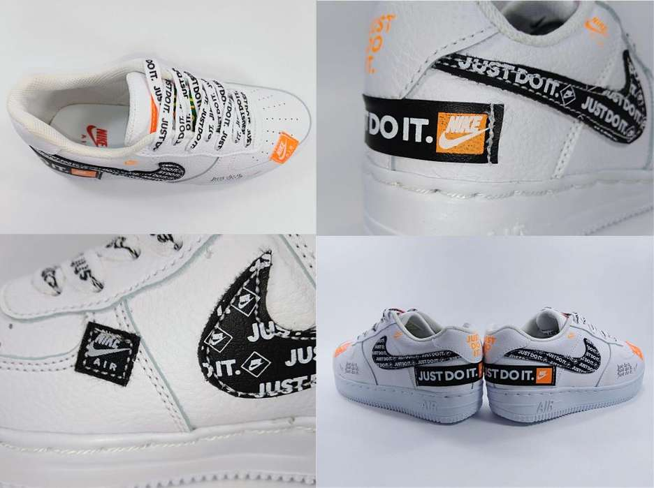 Tenis Nike Air Force One Just Do It Tula Nike