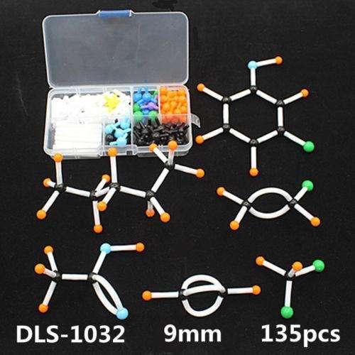 135 Piezas Juego De Modelo Molecular Química Orgánica