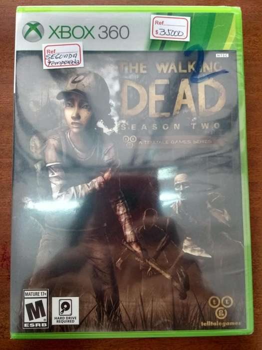 Juego The Walking Dead Temporada 2 Xbox 360