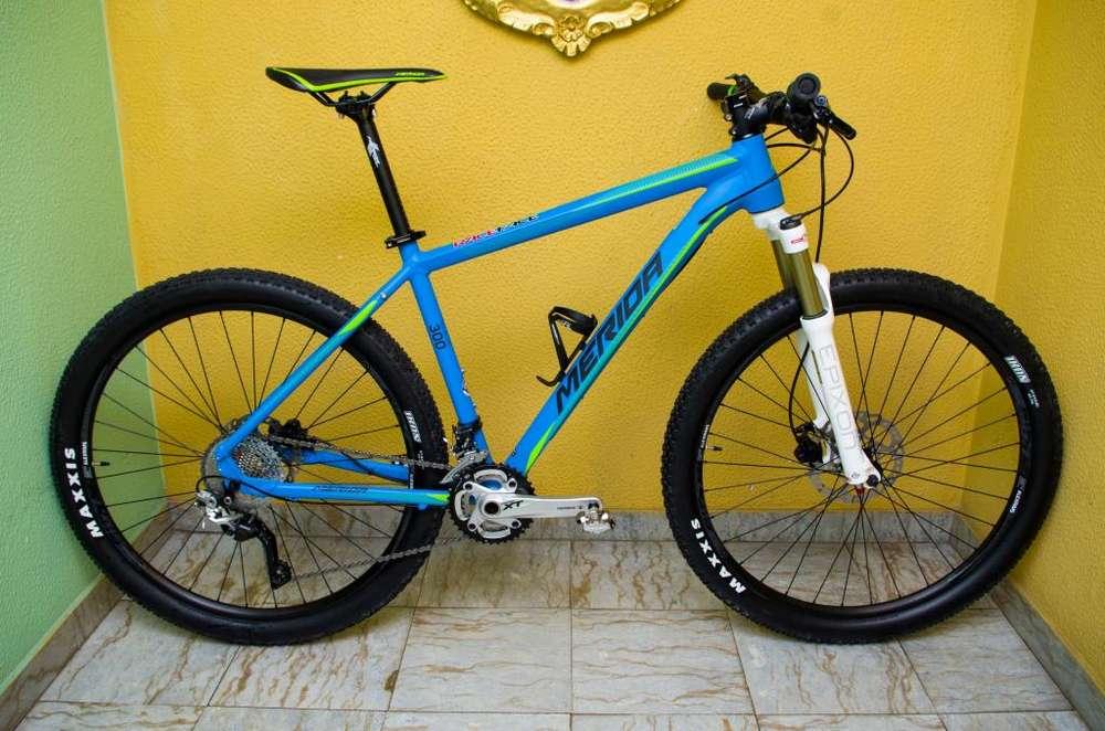 Bicicleta MTB Merida 27.5
