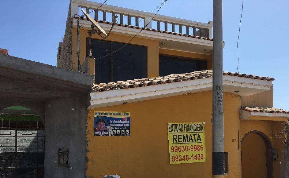 Remato Moderna Casa en Pisco - La Esperanza - Precio de Ocasión