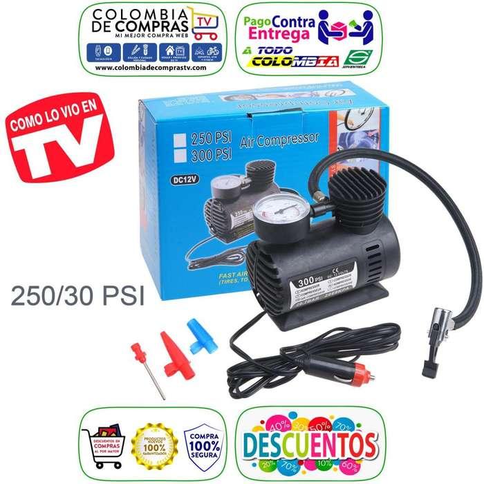 Compresor De Aire Tv Portátil Mod.260 Psi, 12v Nuevos, Originales, Garantizados.