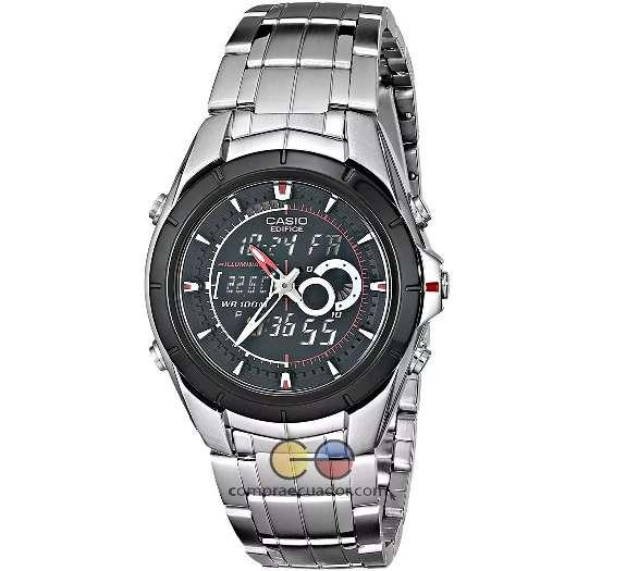 <strong>casio</strong> Reloj Efa 119 Hombre Alarma Luz Led Termómetro Edifice