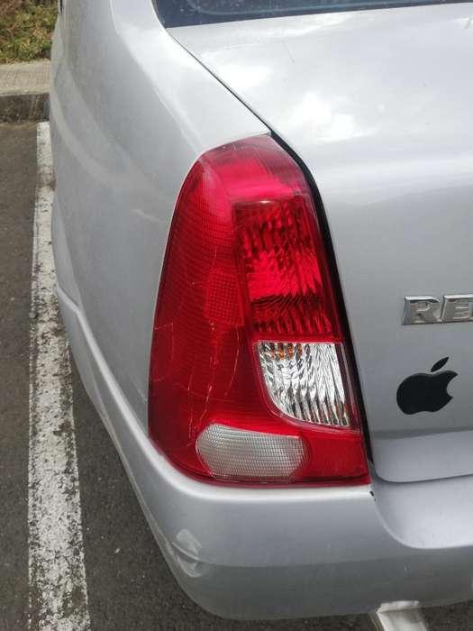 Stops Renault Logan 2008.