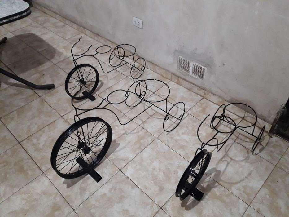 Porta Maceta Bicicleta