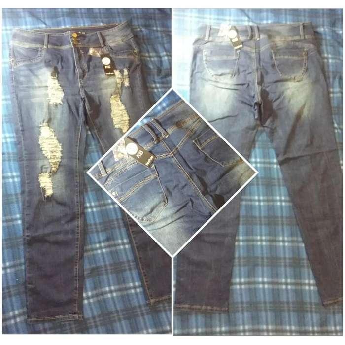 Jean para Mujer Nuevo Importado de EEUU Plus Size Marca Boohoo Talla XXL 18 US