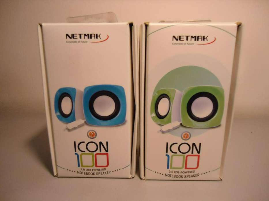 Parlante Netmak ICON 100 para Notebook 3w