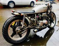 modificaciones cafe racer,, scrambler, custom . chopper