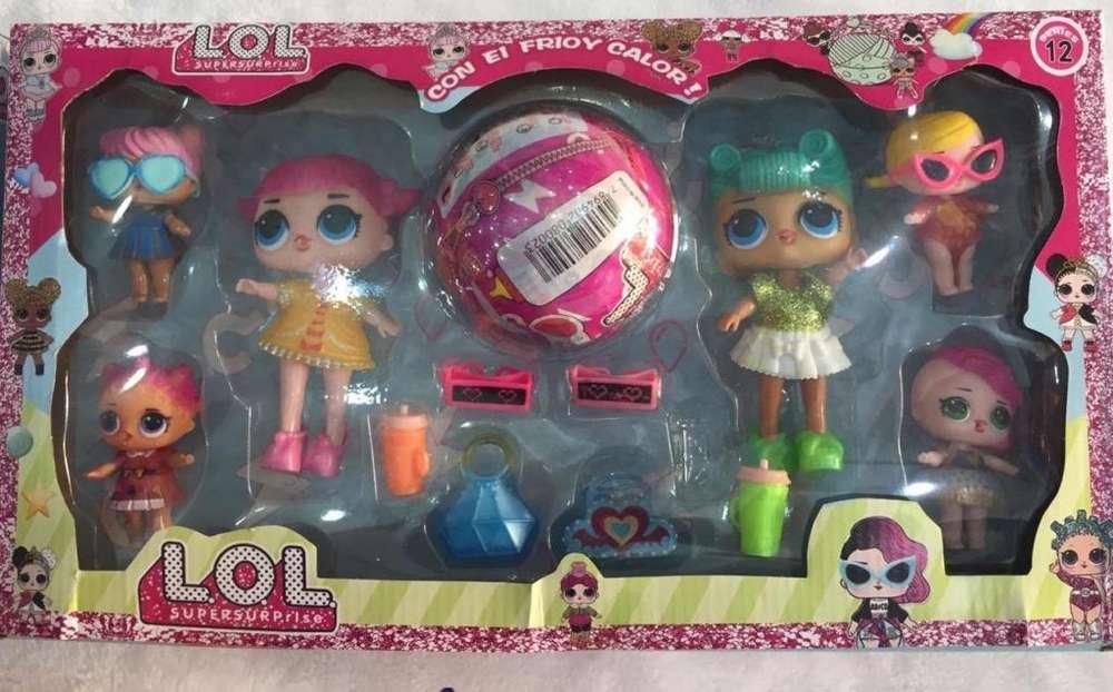 Gran Promocion Bolas Lol sorpresa con muñecas y accesorios