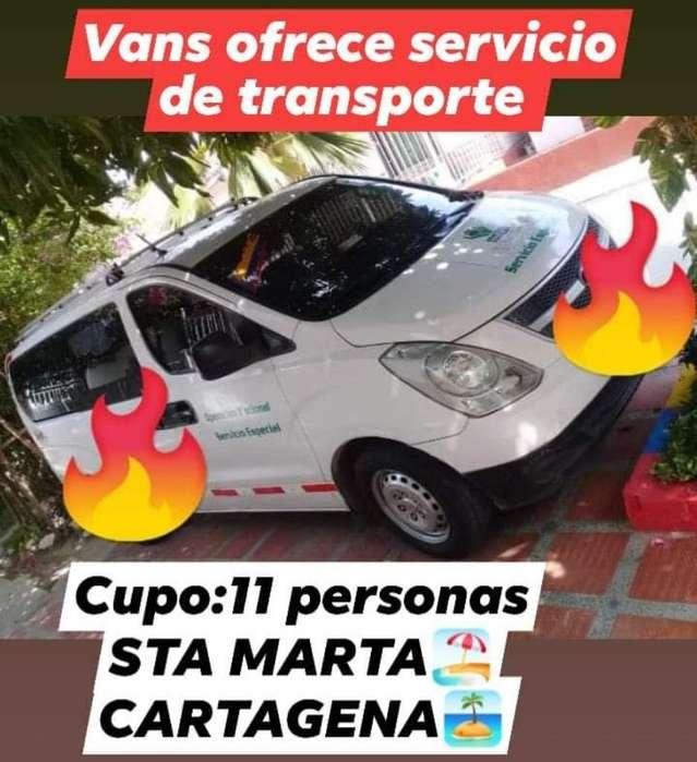 Vans Ofrece Servicio de Transporte