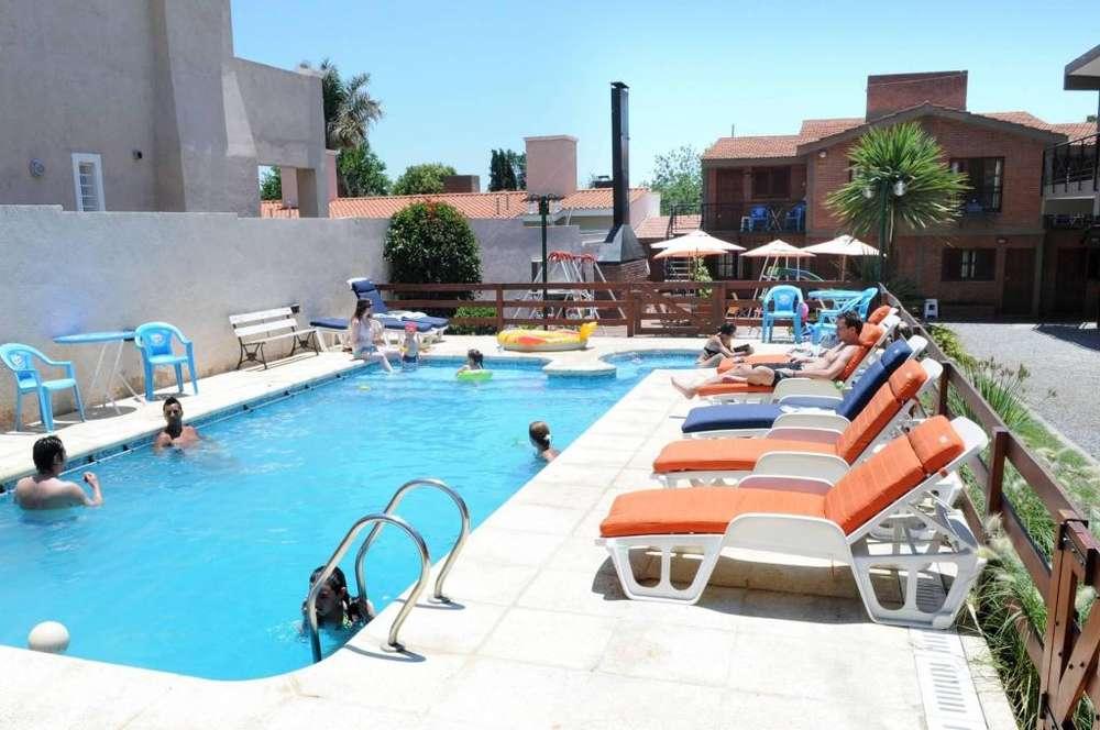 ye53 - Apart para 2 a 6 personas con pileta y cochera en Villa Carlos Paz