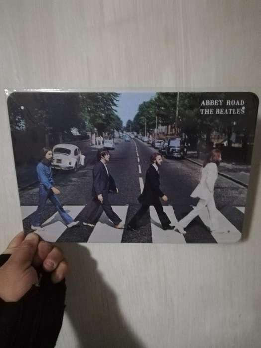 The Beatles Placa Abbey Road