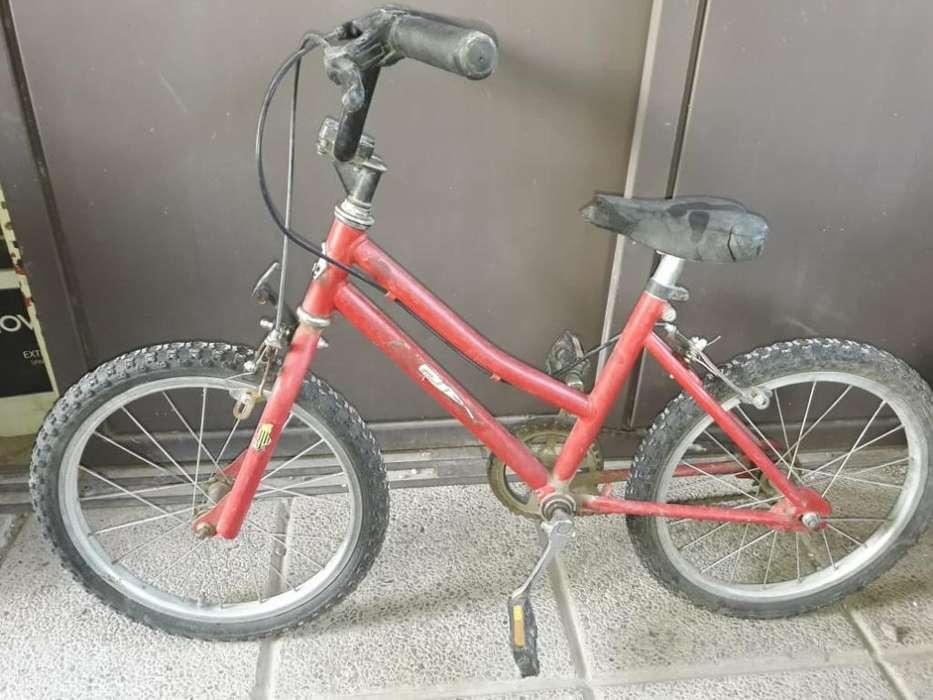 Dueña Vende. Bicicleta Rodado 16