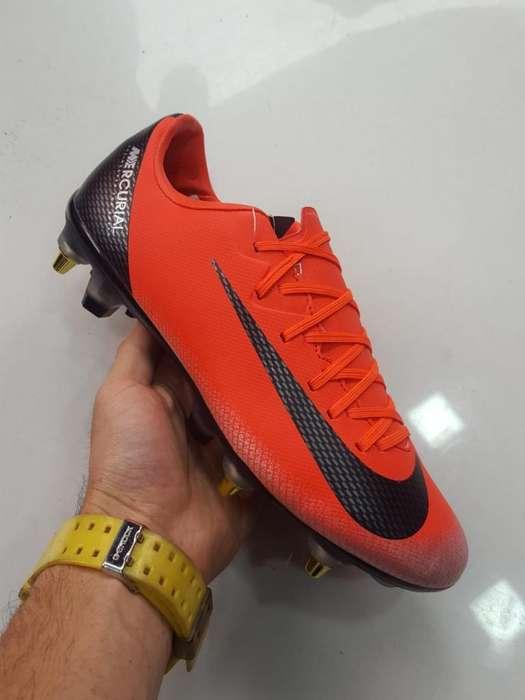 Guayos Nike Rojos Vapor