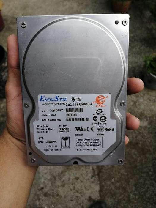 Disco Duro Excelstor 80 Gb