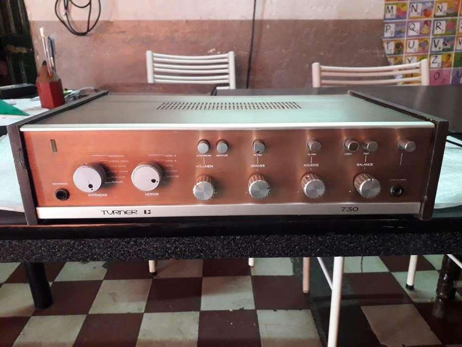 Vendo Amplificador Estereofonico TURNER vintage