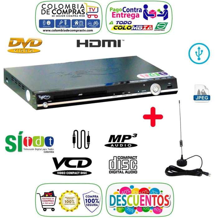 Dvd Con Tdt Integrado Full Hd Usb Cd Mp3 Lente Samsung, Nuevos, Originales, Garantizados