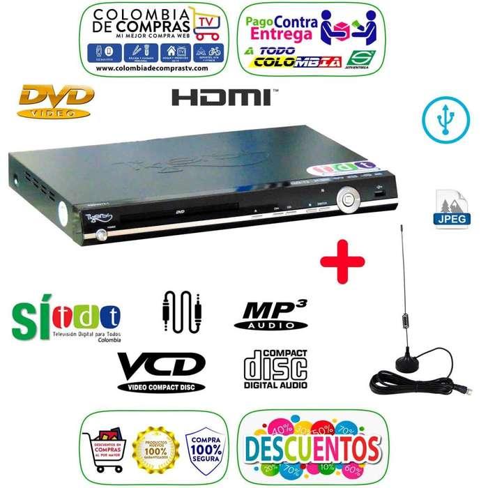 Dvd Con Tdt Integrado Full Hd Usb Cd <strong>mp3</strong> Lente Samsung, Nuevos, Originales, Garantizados