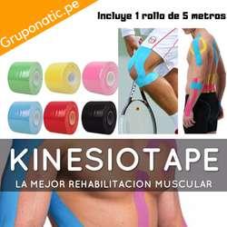 Venda Cinta Kinesiologica Terapia Tape Gruponatic San Miguel Surquillo Independencia La Molina Whatsapp 941439370