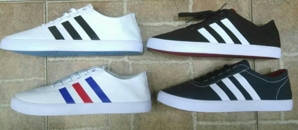 7efe9dfd6493a Tenis Zapatillas Adidas Neo Lona Hombre - Bogotá