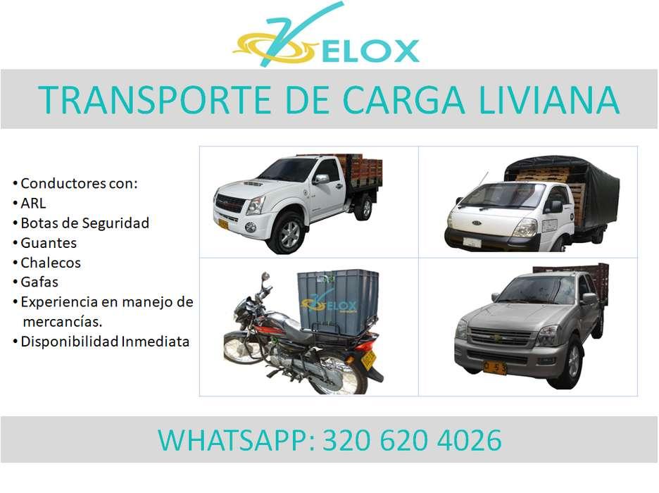 TRANSPORTE DE CARGA LIVIANA, ACARREOS, MUDANZAS, ENCOMIENDAS, PAQUETES, A NIVEL URBANO REGIONAL Y NACIONAL 320620 4026