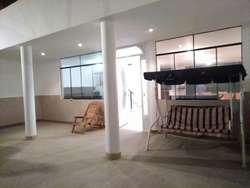 Alquiler de amplia casa de playa en Punta negra c/piscina