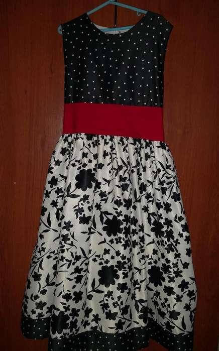 Vestido de Gala Niña Talla 12-14