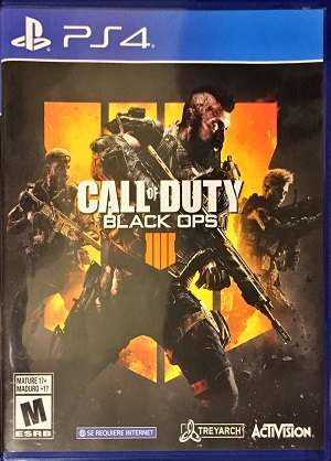 Call Of Duty Black Ops 4 Ps4 Juego Fisico Playstation 4