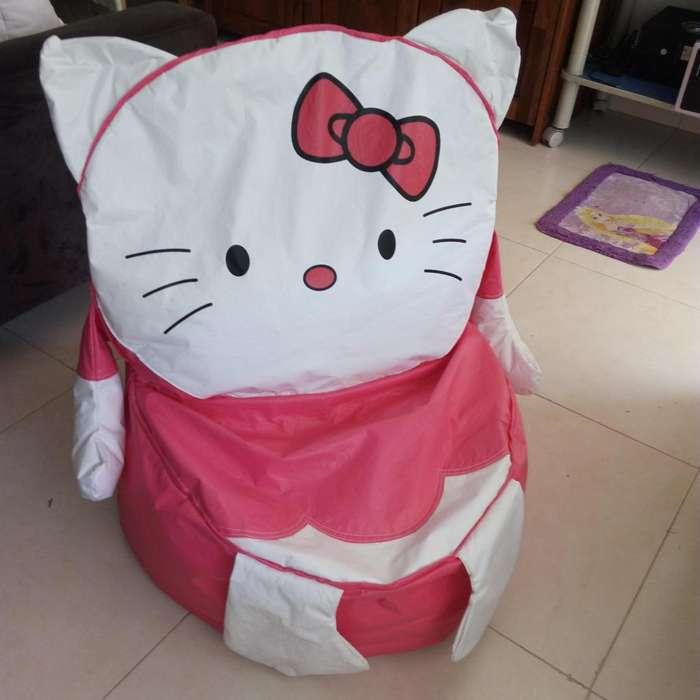 <strong>sillon</strong> Infantil o Puff de Hello Kitty