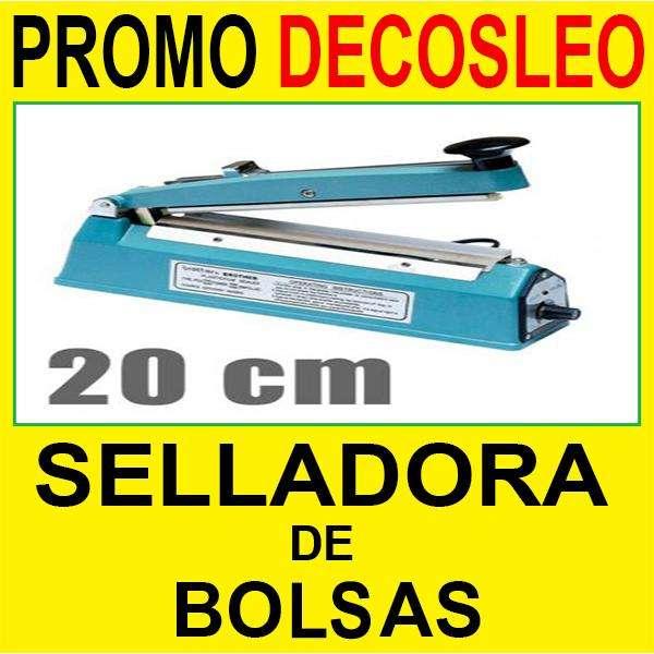 ** DECOSLEO ** Selladora de bolsas de 20 cm