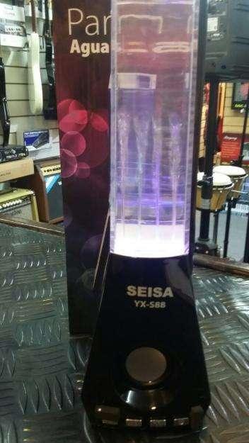 Reproductor mp3/ Parlante portatil de agua danzantes Seisa YXS88 USB