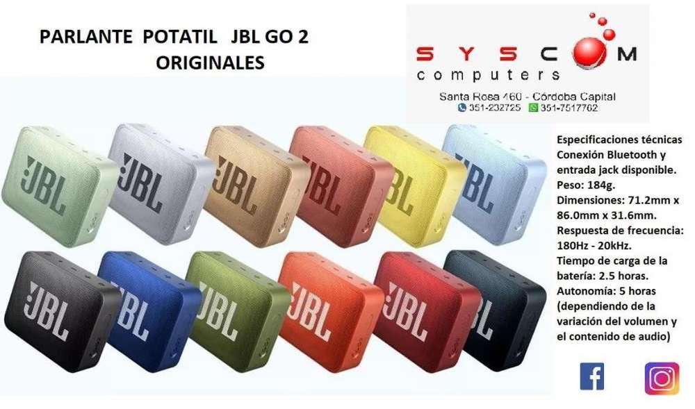 JBL GO 2 parlantes